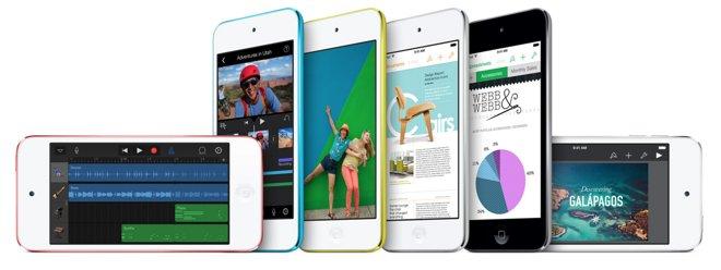 vernieuwde ipods
