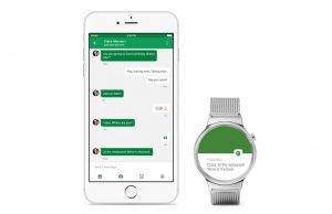 android wear voor ios