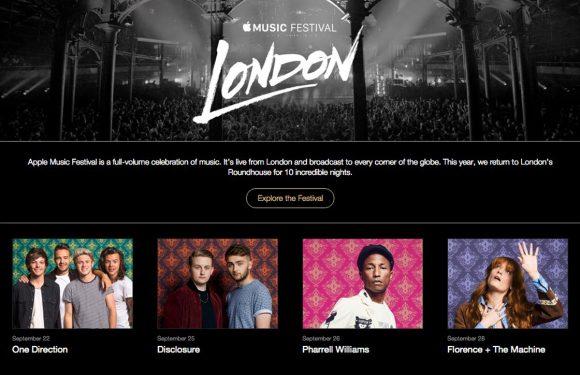 Apple's muziekfestival krijgt make-over: 4 vernieuwingen