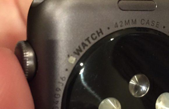 Klachten over de Apple Watch Sport: letters en logo verdwijnen