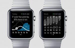 apple watch weer-apps