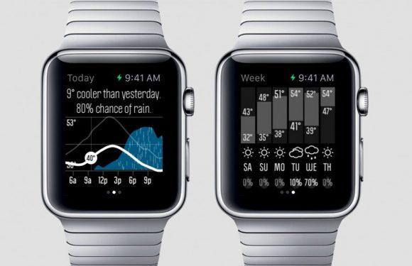 Apple Watch-dragers checken vooral het weerbericht