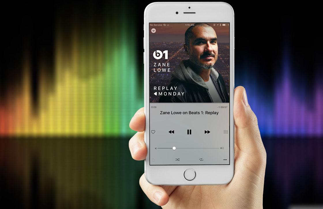 '800.000 Nederlanders gebruikten Apple Music in 2015'