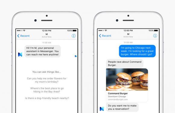 Zo gaat Facebook de concurrentie aan met Siri