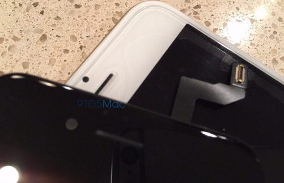 Gelekte foto's tonen Force Touch en FaceTime-sensoren van iPhone 6S