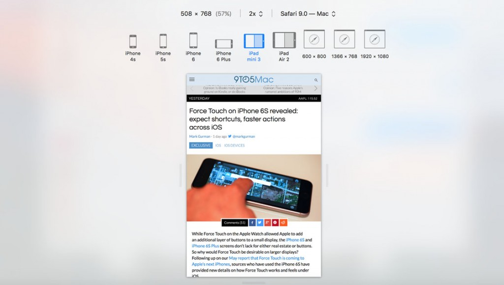 ipad mini 4 split view