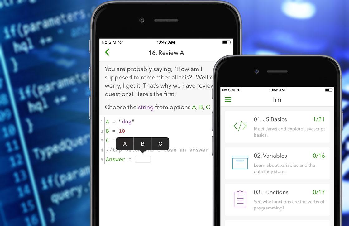 Lrn: nieuwe app leert je programmeren op je iPhone