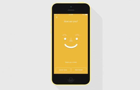 Nieuwe app Moodnotes wil weten hoe het met je gaat