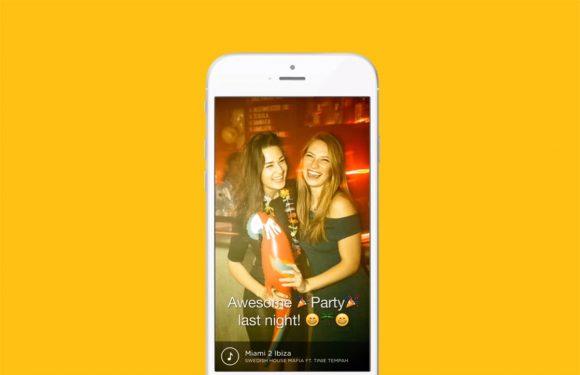 MSTY: sociale app is eigenlijk Snapchat met muziek