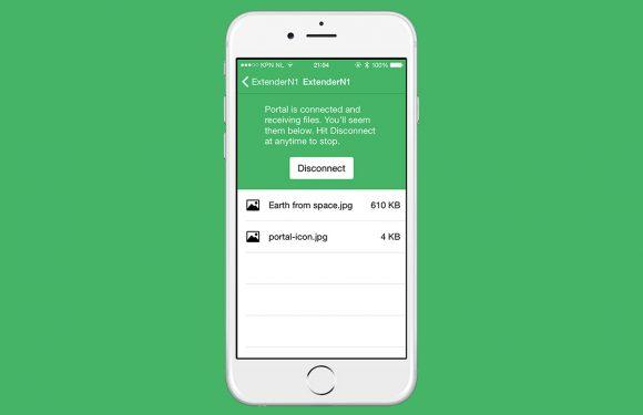 Portal: stuur gemakkelijk bestanden van je pc naar je iPhone