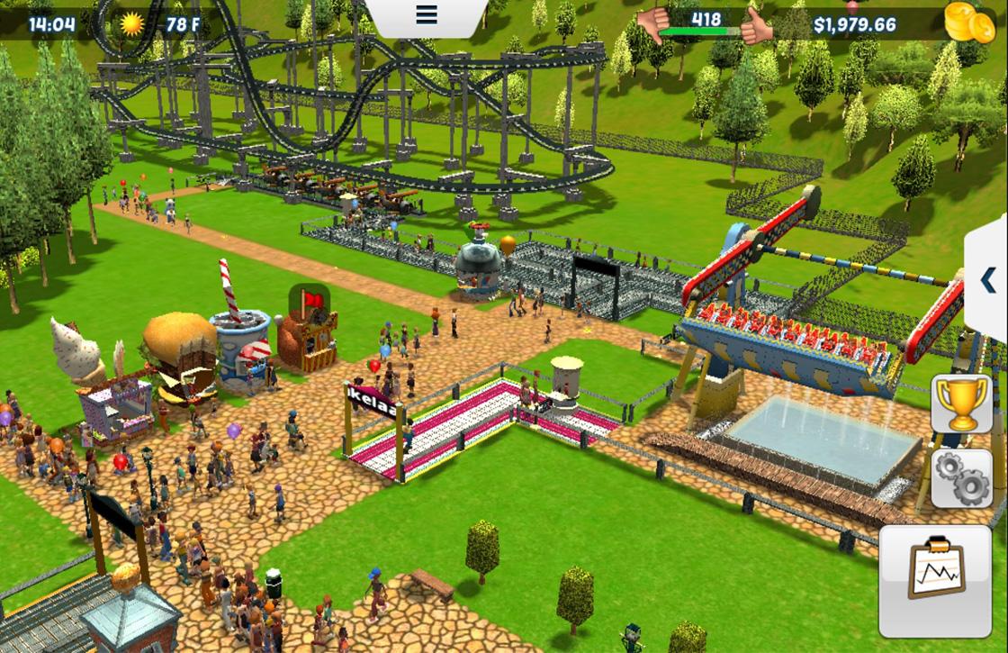 Waarom RollerCoaster Tycoon 3 de leukste pretpark-sim voor iOS is
