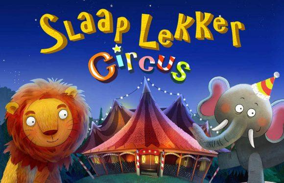 Nieuwe App van de Week zegt je kinderen welterusten met circusdieren