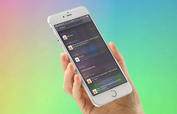 Hoe Spotlight steeds functioneler wordt op iOS en OS X