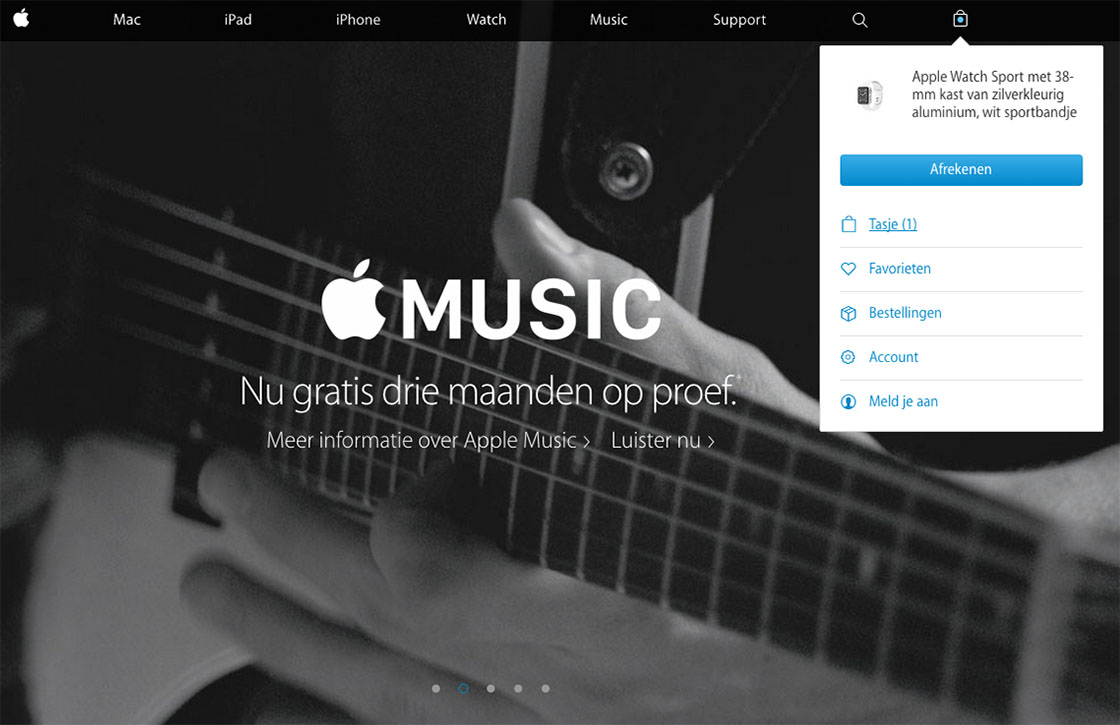 Apple-website volledig vernieuwd en stukken overzichtelijker