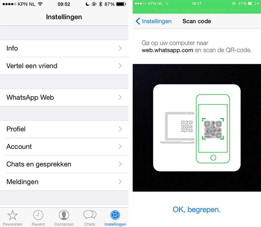 Stappenplan Zo Gebruik Je Whatsapp Web Voor Ios