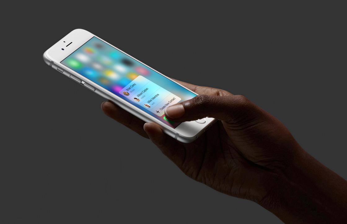 Waarom 3D Touch in de iPhone 6S een big deal is
