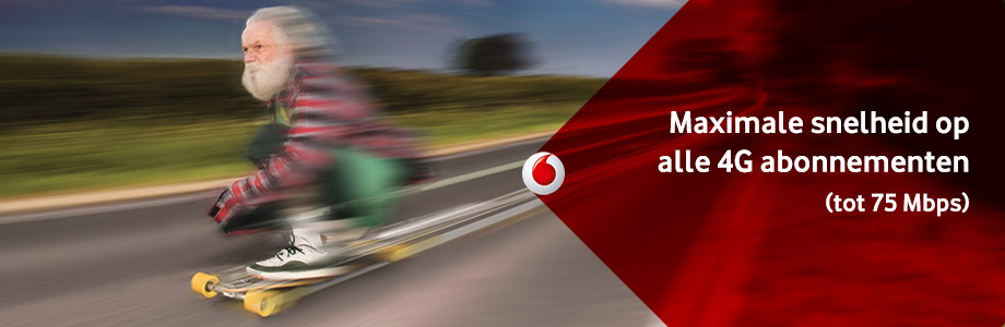Vodafone 4G en de iPhone 6