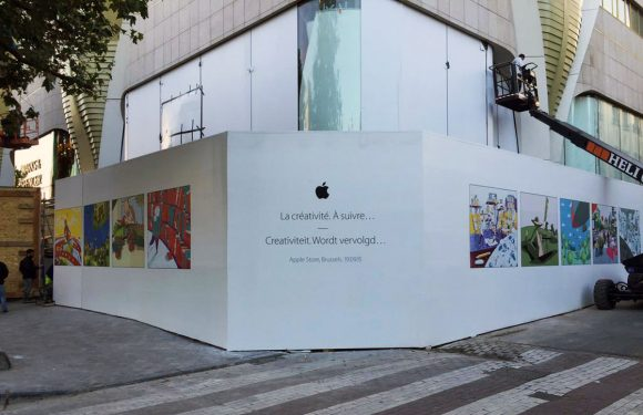Nieuwe Apple Store in Brussel opent op 19 september