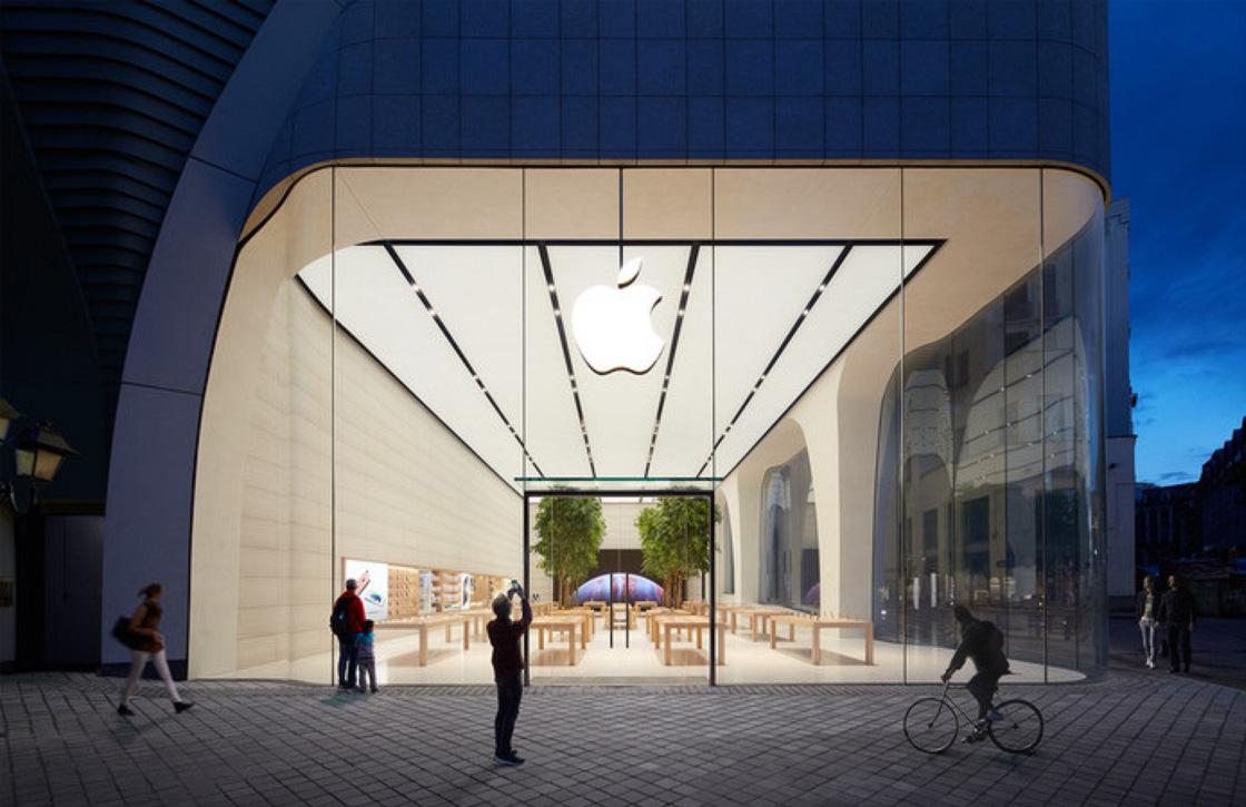 'Apple Store tassen voortaan van papier in plaats van plastic'