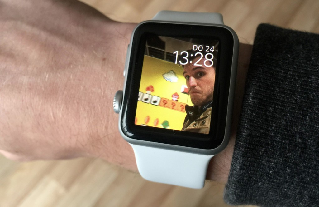 apple watch foto's instellen k