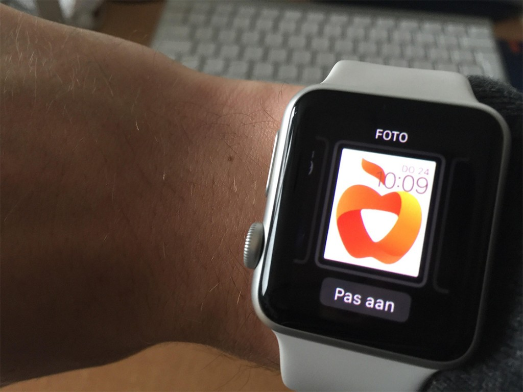 apple watch foto's maart