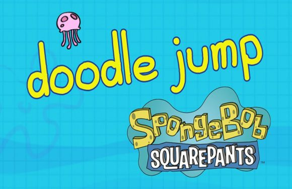 Doodle Jump SpongeBob SquarePants is de gratis App van de Week