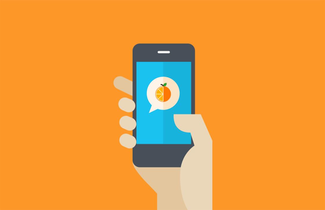 Hapsnapp: geinige chat-app leert je over voedsel
