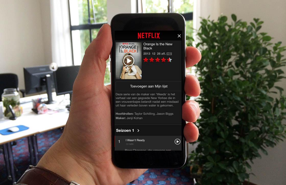 'Netflix maakt offline opslaan van films en series dit jaar nog mogelijk'