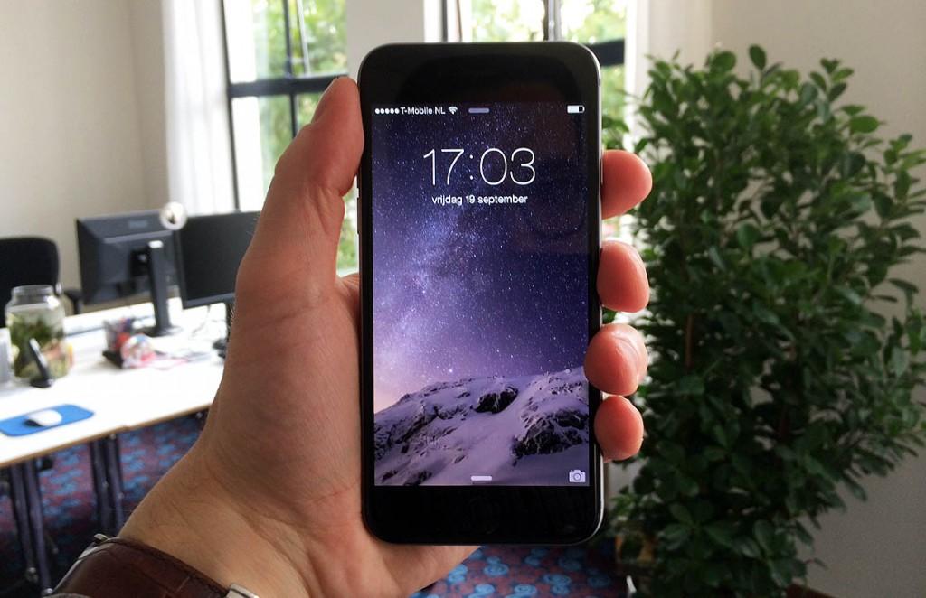 iPhone 6 scherm