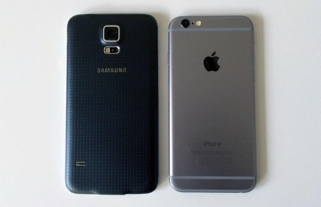 iPhone 6 vs Galaxy S5