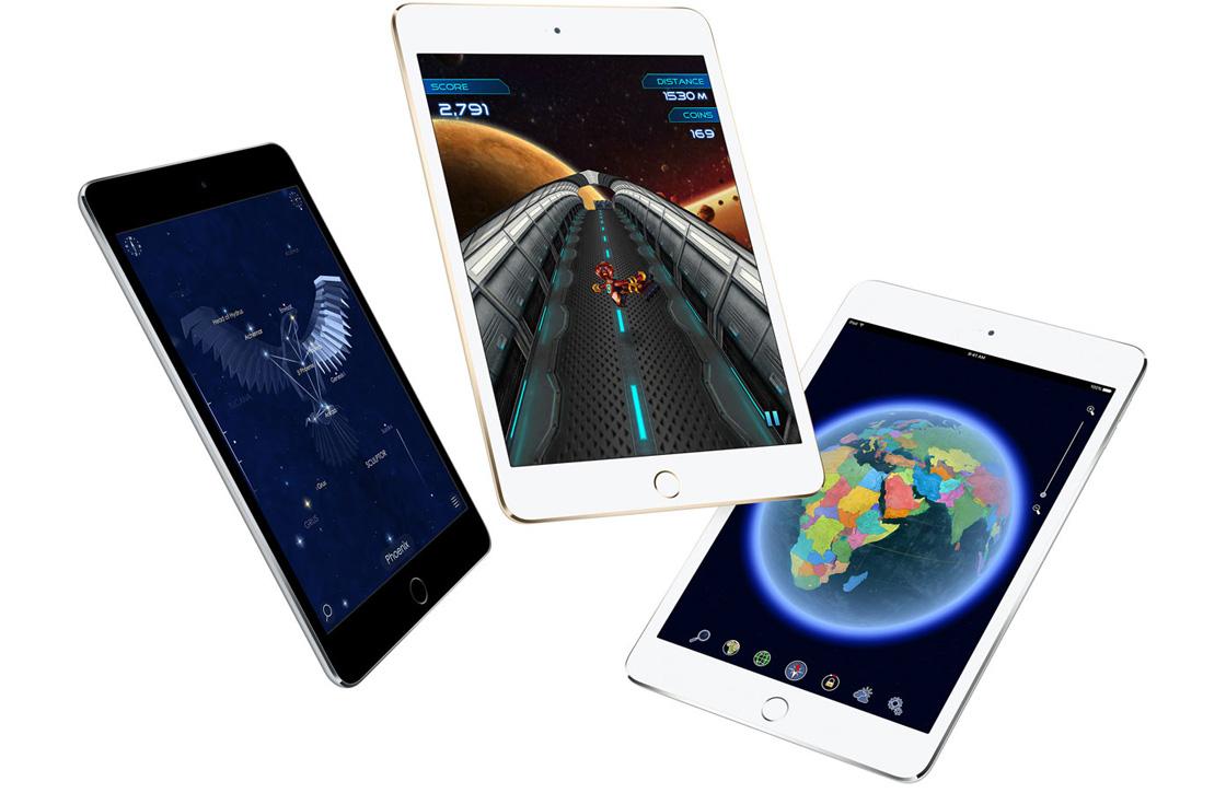 'Apple komt volgend jaar met iPad mini 5 en 10 inch-iPad'