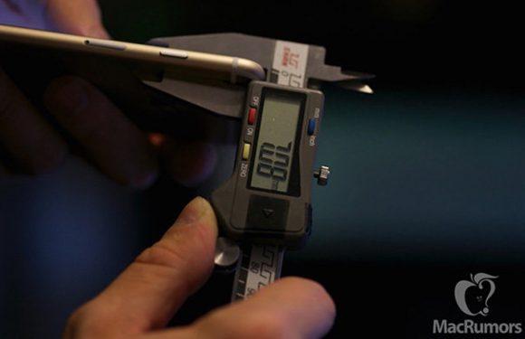 Gelekte foto's tonen iets dikkere iPhone 6S-behuizing