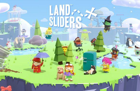 Land Sliders: laat knotsgekke poppetjes over de wereld glijden