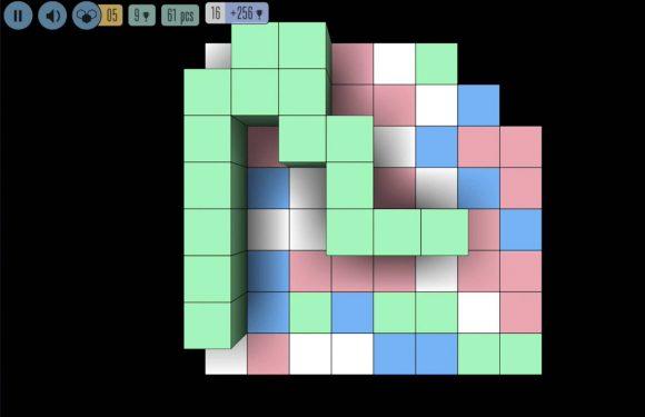 Sea of Squares: rustgevende puzzelgame met kleurenblokken
