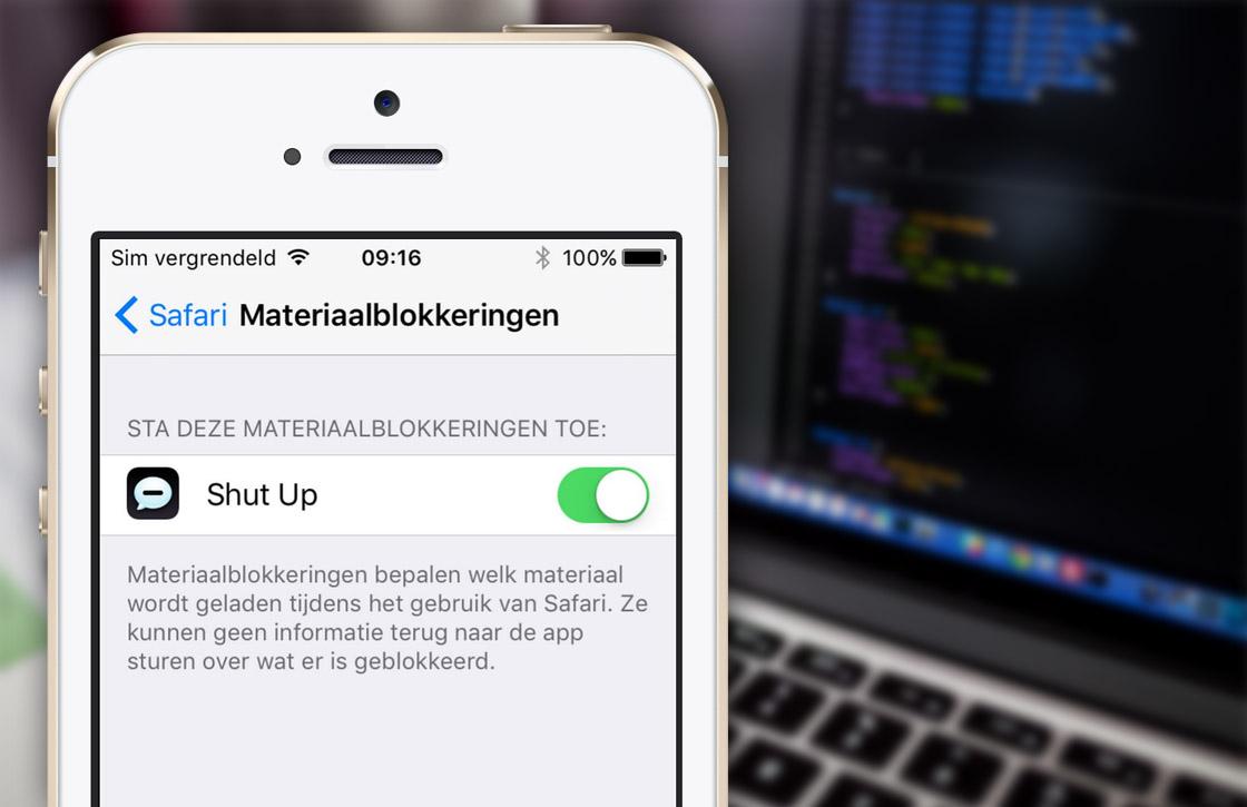 Word jij gek van online reacties? Installeer Shut Up voor iOS