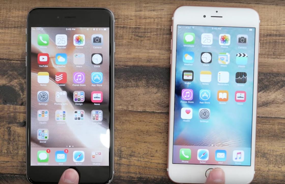 Video: Zo veel sneller is Touch ID op de iPhone 6S