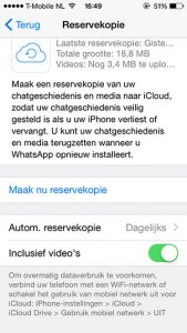 WhatsApp-video's