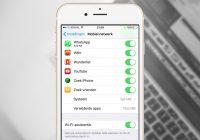 Tip: schakel Wifi Assist uit om data te besparen
