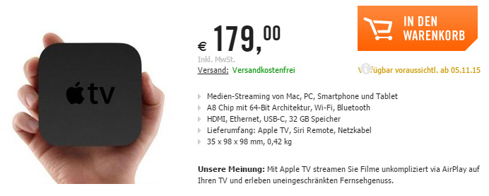 apple tv ipad pro prijzen