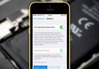 Tip: laat deze iOS 9 functie ingeschakeld voor een langere accuduur