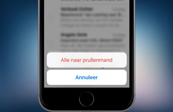 Zo verwijder je in één keer alle mails met iOS 9