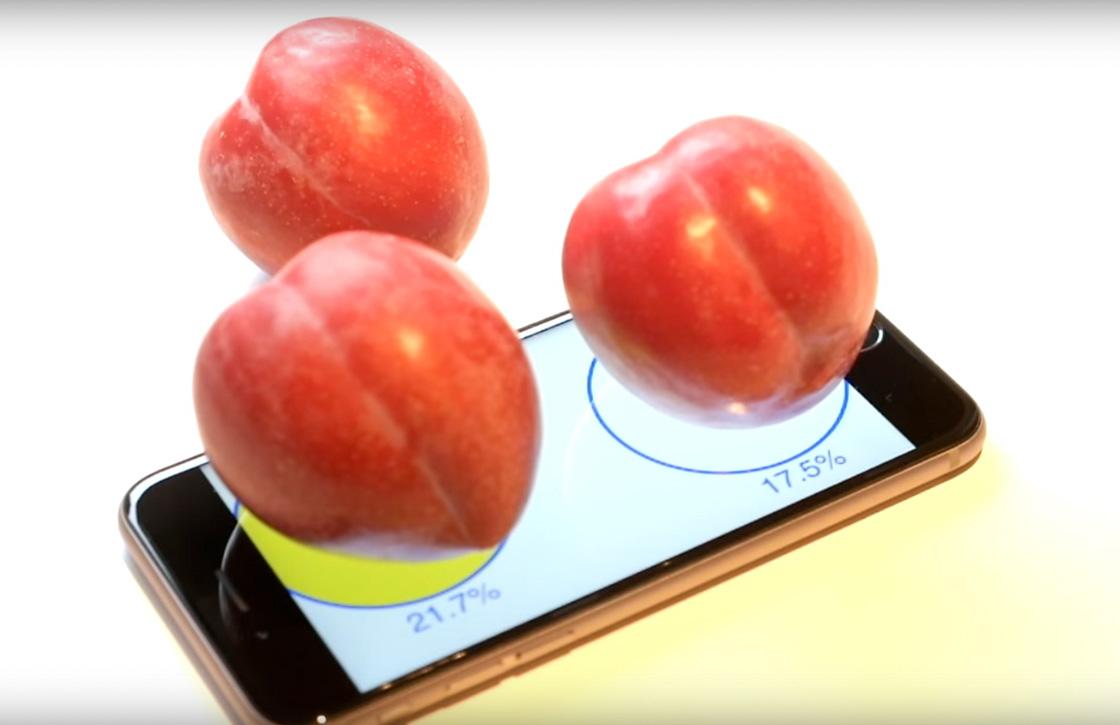 Video: de iPhone 6S als weegschaal