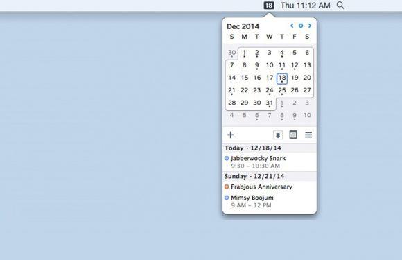Check de datum vanuit je Mac-menubalk met een van deze 3 apps