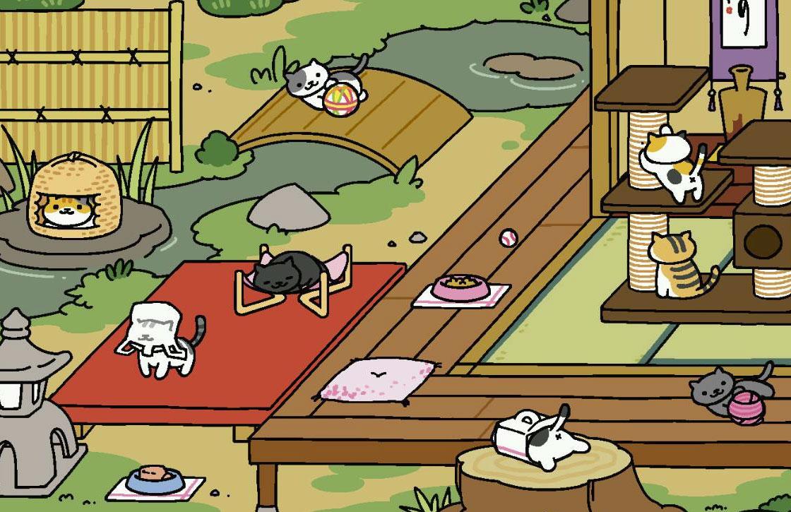 Populaire kattengame Neko Atsume nu in het Engels