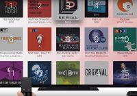 De eerste Apple TV podcast-app is niet van Apple