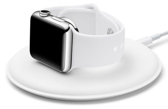Apple brengt magnetisch oplaaddock voor Apple Watch uit