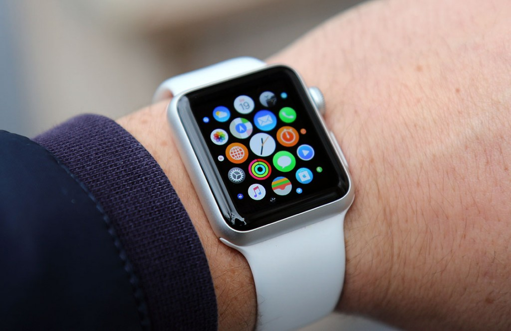 Apple Watch gebruik