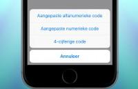 Zo breng je je toegangscode terug naar vier cijfers in iOS 9
