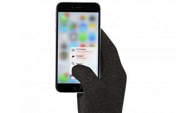 Apple bedenkt display dat met gewone handschoenen werkt