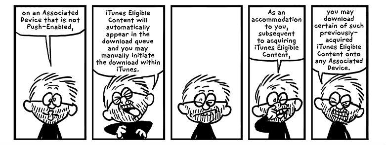 iTunes algemene voorwaarden